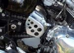 Bonneville/Thruxton/Scrambler Sprocket Cover. Twins Upto 2015.